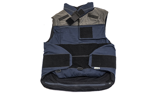 Blue Fragmentation Vest