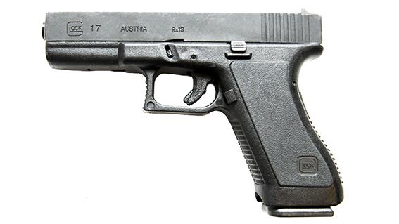 Glock 17 - 9mm.