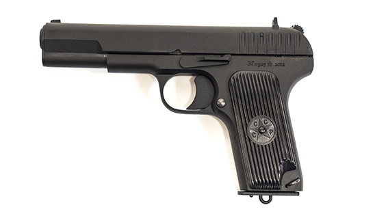 Tokarev TT-33 - 9x18mm.