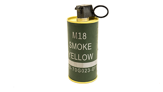 M18 Yellow Smoke Grenade